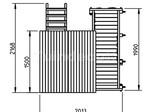 Tuindeco Zelfbouwspeeltoestel Penthouse
