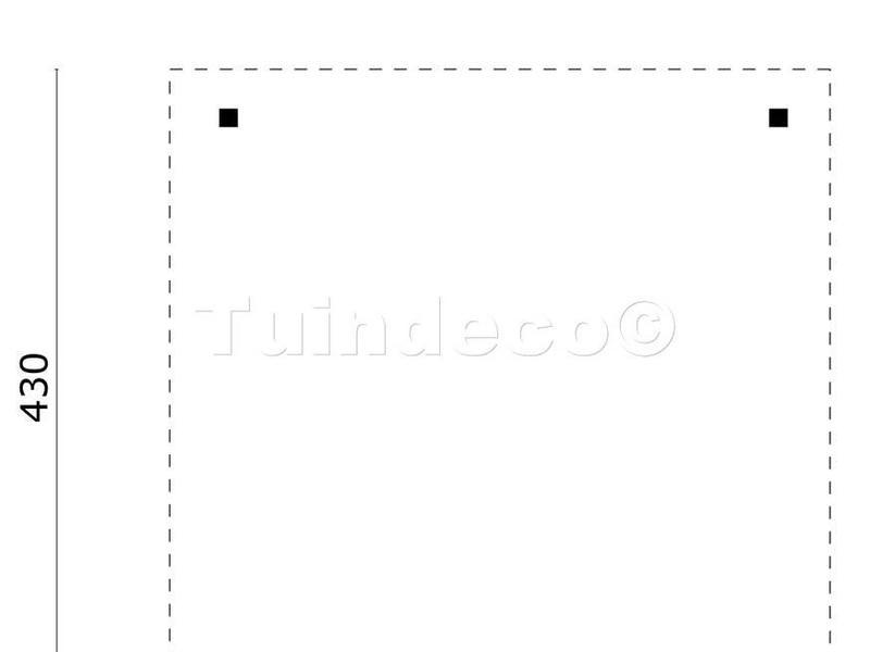 Tuindeco Prieel Classico met Puntdak