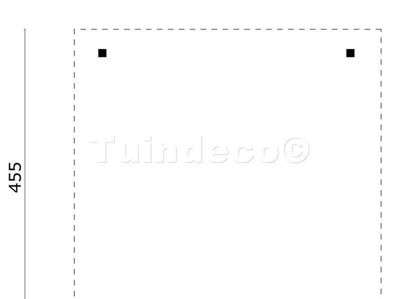 Tuindeco Prieel Modern Groot met Plat Dak