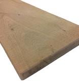 Eiken planken 22x200 mm in de lengtes van 3 en 4 meter.