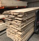 Eiken planken 25x150 mm in de lengtes van 3 meter