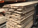 Eiken planken 32x150 mm in de lengtes van 3 meter.