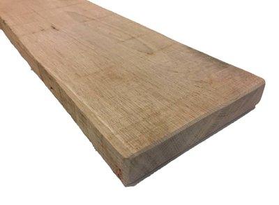 Eiken plank 32x150 mm Fijnbezaagd
