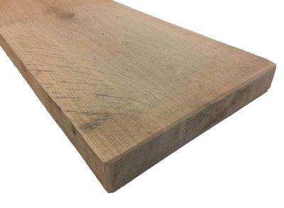 Eiken plank 32x200 mm Fijnbezaagd
