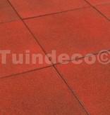 Tuindeco Rubber tegels rood