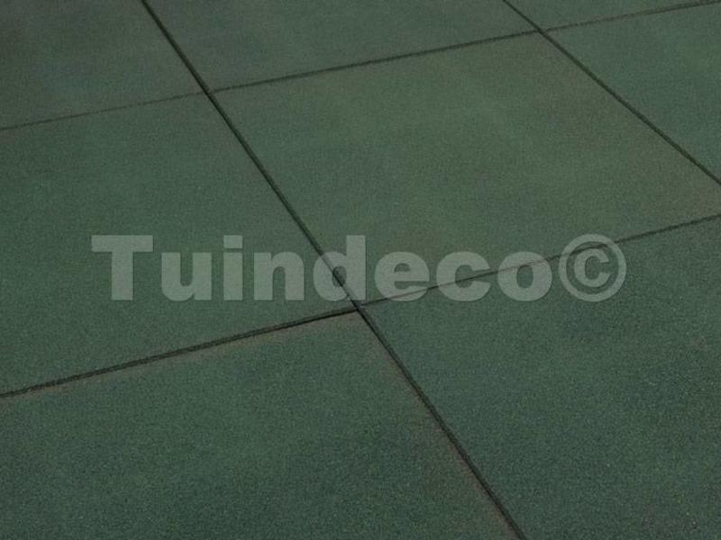 Tuindeco Rubber tegels groen