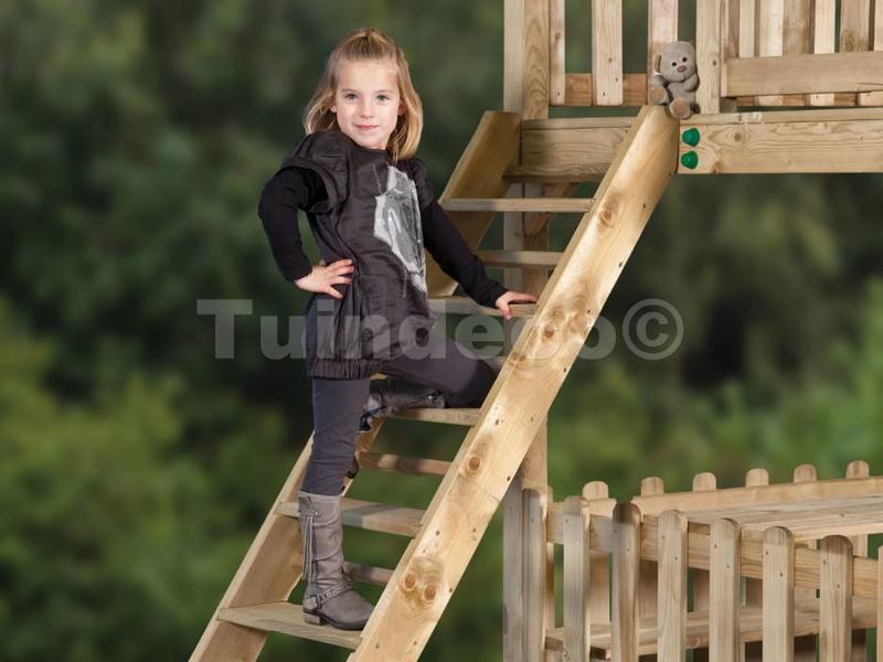 Tuindeco Zware trap voor speeltoestel