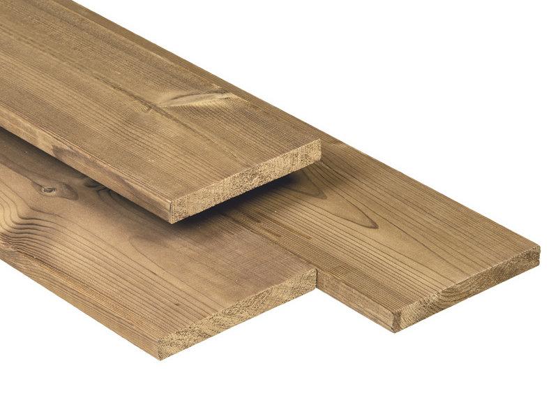 Tuindeco Tuinplank Thermisch Gemodificeerd 18x141mm | Steamed 5* Class Wood
