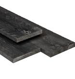 Tuindeco Douglas Plank 16x140mm Zwart Gedompeld Scherpkantig