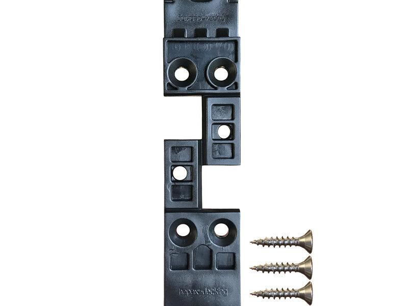 Tuindeco Hapax Fixing Pro Clips 5m2 | Onzichtbare Montage Houten Vlonderplanken