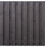 Tuindeco Tuinscherm Sabien B180xH180 | Zwarte Douglas Schutting