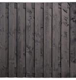 Tuindeco Tuinscherm Karin B180xH180 | Zwarte Douglas Schutting