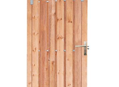 Tuindeur Schuifdeur 130x195cm Red Class Wood