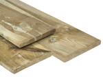Tuindeco Grenen Plank 20 x 200 mm (2.0 x 20.0 cm) Geïmpregneerd met Ronde Hoeken
