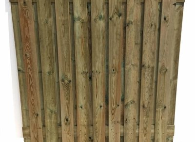 Schutting 17 planks actie (per stuk)