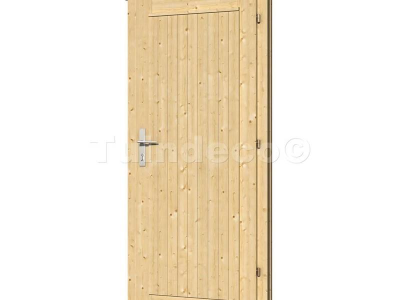 Tuindeco Enkele deur D5 voor Bllokhutten