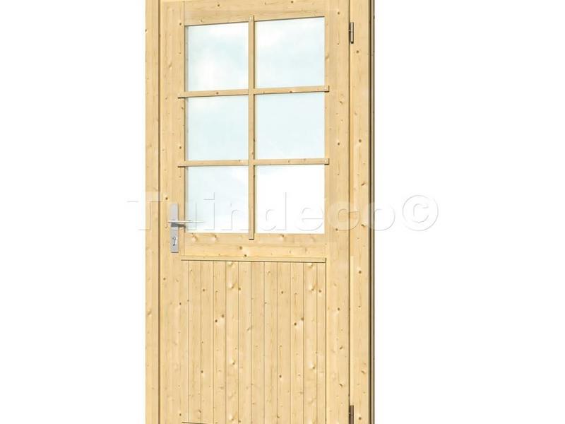 Tuindeco Vuren extra hoge en brede enkele deur