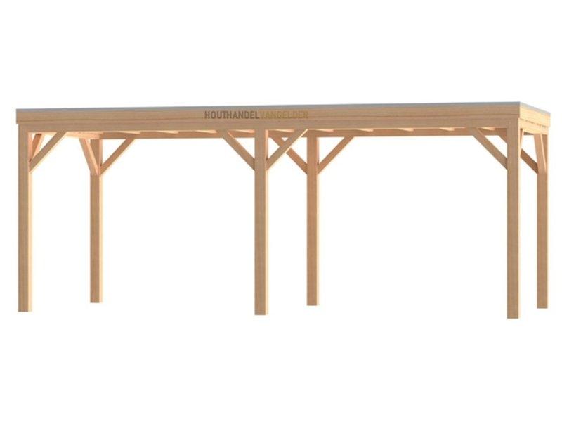 Van Gelder Hout Douglas Houten Overkapping Robuust Bouwpakket / Materiaalpakket 400x700cm (4x7 meter)