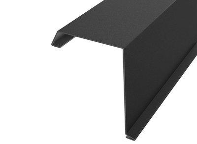 Windveren zwart - 200cm