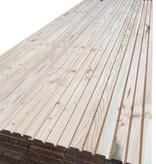 Van Gelder Hout Douglas Deens rabat/ Rhombus Plank 25 x130mm werkend