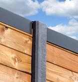 Tuindeco Beton sleufpaal 10x10x275 antraciet ZAAN