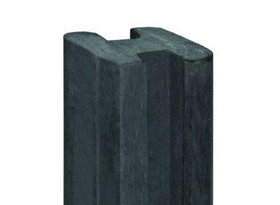Beton sleufpaal 10x10x275 antraciet ZAAN