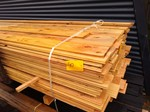 Restant partij Douglas vellingdelen per volle bundel a 130 stuks 18x130x3000 mm  - B050