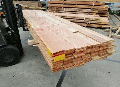 Restant partij Douglas vellingdelen per volle bundel a 84 stuks 18x130x4000 mm  - B960