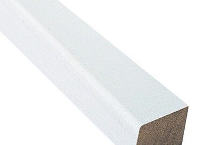 Glaslatten wit gegrond 1.5x1.7 - 4.90m