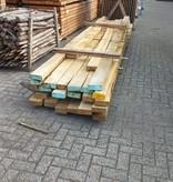 Van Gelder Hout Restant partij Eiken balken per volle bundel a 24 stuks 60x150 - B074