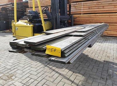 Restant partij Douglas vellingdelen per volle bundel a 36 stuks 18x130x4000/5000 mm  - B058