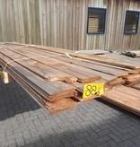 Restant partij Douglas vellingdelen per volle bundel a 30 stuks 18x130x4000 mm  - B881