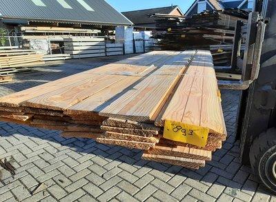 Restant partij Douglas Zweeds rabat per volle bundel a 32 stuks  25/11x195x3000mm Fijnbezaagd  - B893