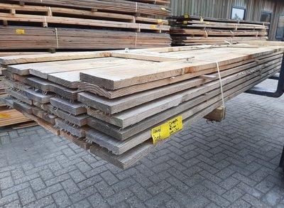 Restant partij Douglas steigerplank per volle bundel a 32 stuks 32x200x4000 mm  - B206