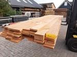 Restant partij Douglas Vlonderplanken per volle bundel a 48 stuks  28x140x4000 mm Met Profiel - B940