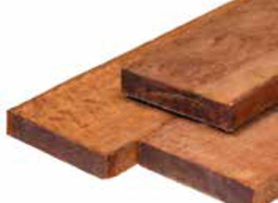 Funderingsbalk hardhout standaard