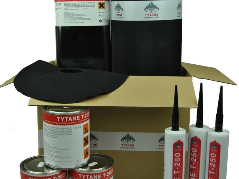 Tytane EPDM dakbedekking pakket 600cm breed (6 meter) - EPDM Folie
