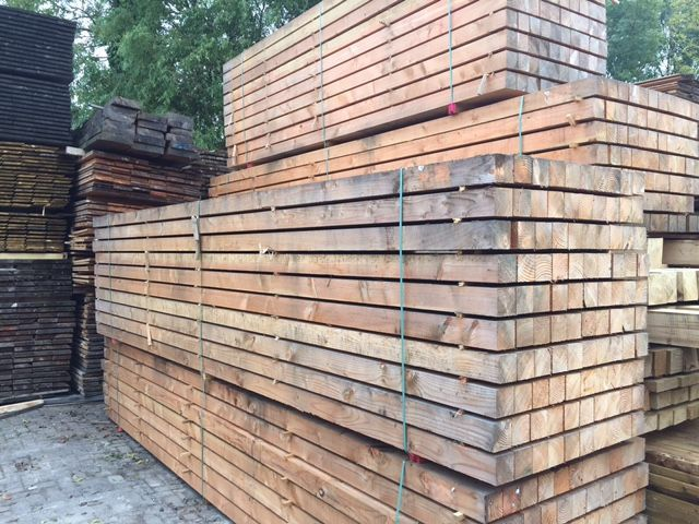 Vergrijsd douglas hout: scherpe prijs! houthandel van gelder