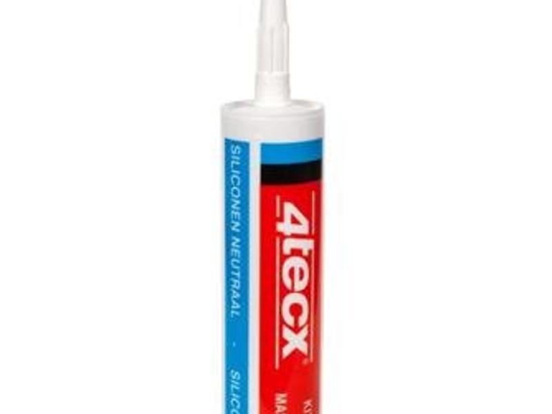 4Tecx Siliconenkit 310ml neutraal