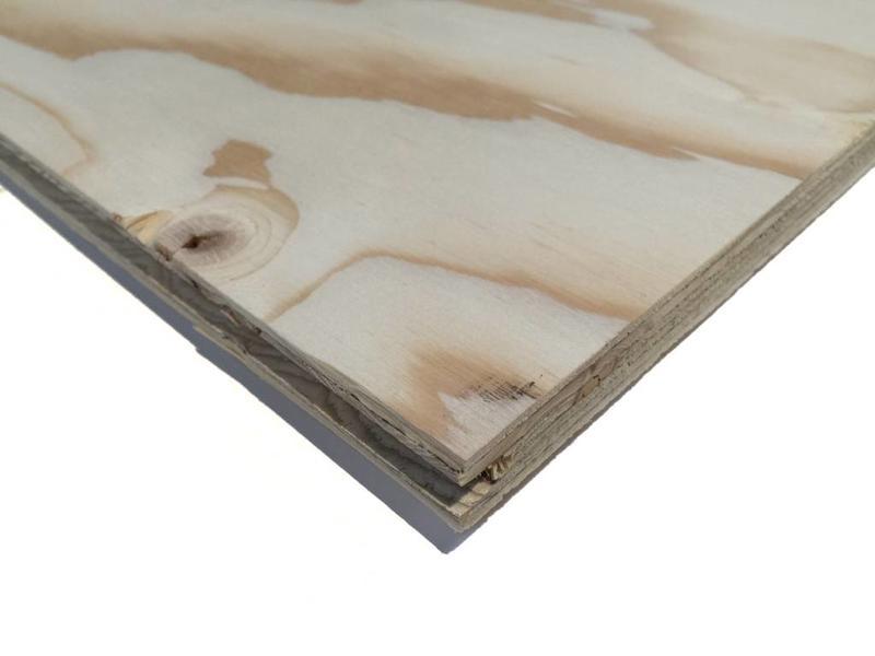 Van Gelder Hout Underlayment Plaat Fins Vuren 2440x1220x18mm | 18mm Dik