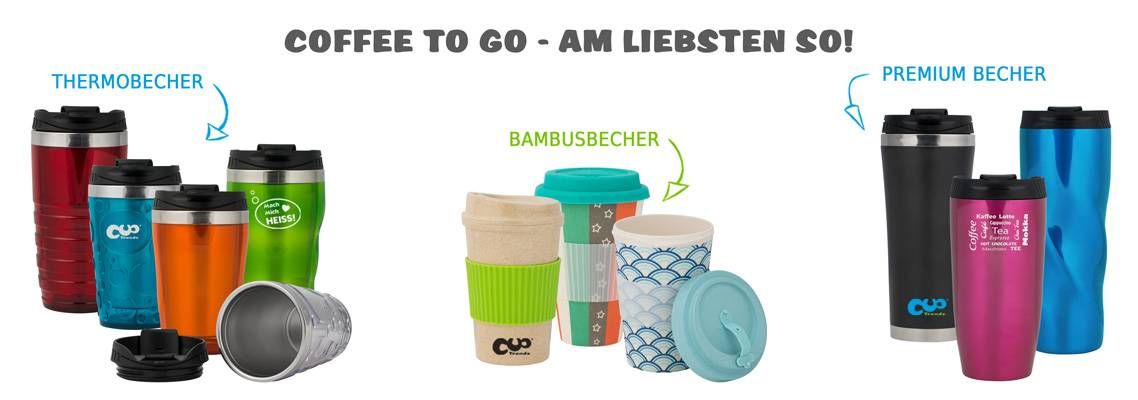 Cup Trends Thermobecher Mehrwegbecher Kaffeebecher Coffee to go