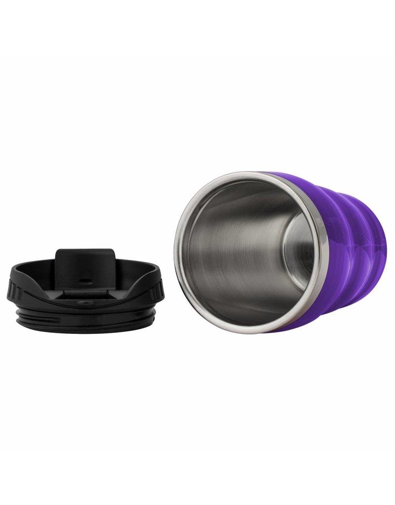THERMOBECHER Rainbow Wavy - violett