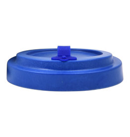 Deckel Bambusbecher - blau