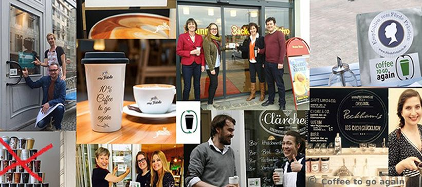 Coffee to go again - Initiative gegen Einwegbecher