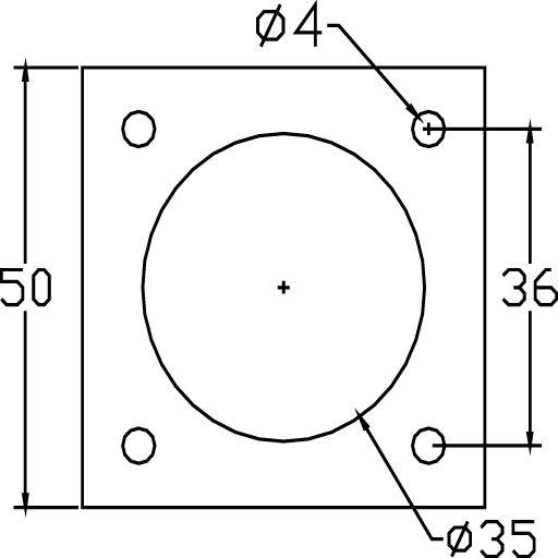 A3113.Plaat Aluminium
