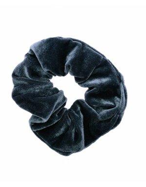 Velvet Scrunchie - Gray