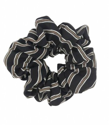 Retro scrunchie - Black