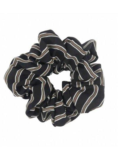 Retro scrunchie - Black