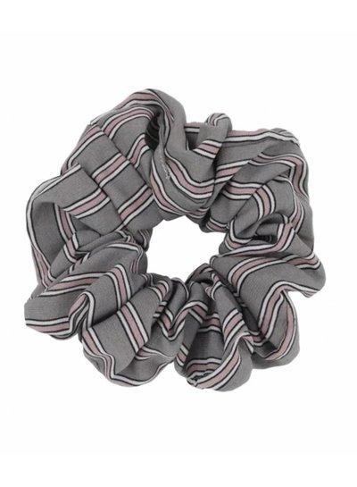 Retro scrunchie - Grey