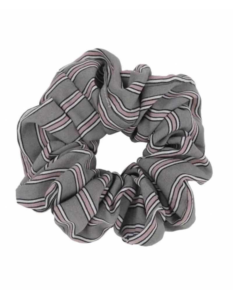Retro scrunchie - Gray